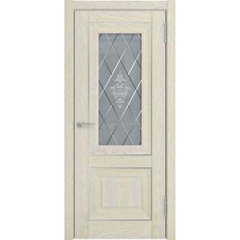Межкомнатная дверь ЛУ-62 (дуб айвори, до) дуб айвори (Товар № ZF191058)