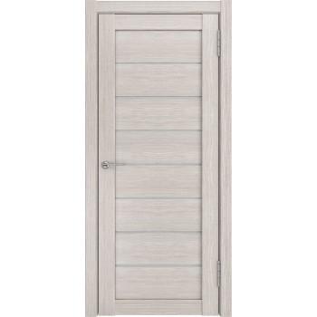 Межкомнатная дверь ЛУ-7 (Капучино белое стекло) капучино (легенда) (Товар № ZF191062)