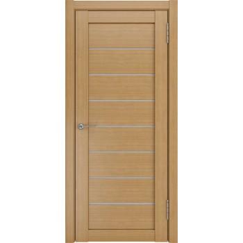 Межкомнатная дверь ЛУ-7 (Орех белое стекло) орех (Товар № ZF191064)