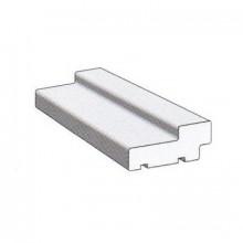 Коробка ТЕХНО экошпон (3D) МДФ, Светло серый 74*28*2070 (под телеск.наличник) с уплотнителем /М/ Дверь ТЕХНО-607 Светло серый