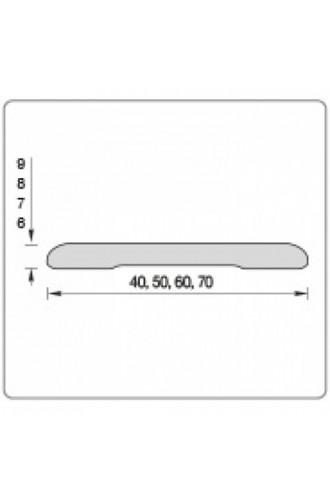 Наличник (70*0,8*2150) ЭКО 01 Беленый дуб мелинга (Товар № ZF178403)