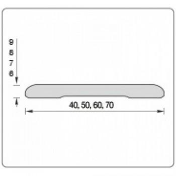 Наличник (58*08*2150) Тип С-08 Беленый дуб айс (Товар № ZF204657)