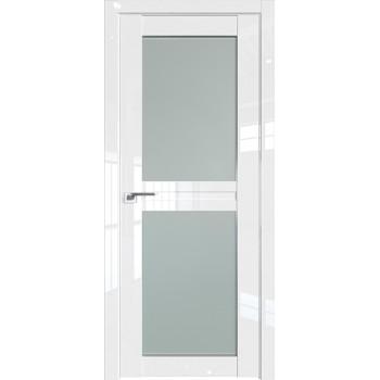 Дверь Профиль дорс 2.44L Белый люкс - со стеклом (Товар № ZF211798)