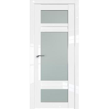 Дверь Профиль дорс 2.46L Белый люкс - со стеклом (Товар № ZF211811)