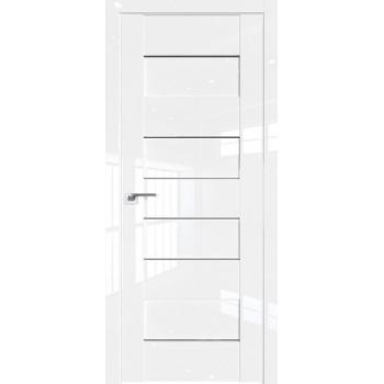 Дверь Профиль дорс 45L Белый люкс - со стеклом (Товар № ZF209323)