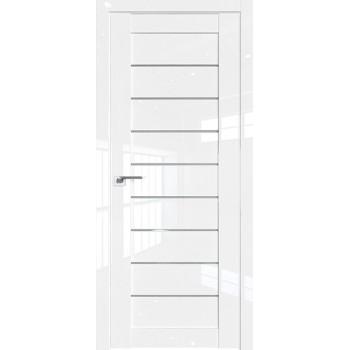 Дверь Профиль дорс 73L Белый люкс - со стеклом (Товар № ZF209326)