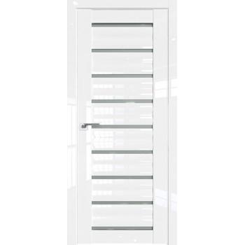 Дверь Профиль дорс 76L Белый люкс - со стеклом (Товар № ZF209331)