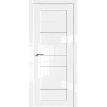 Дверь Профиль дорс 71L Белый люкс - со стеклом (Товар № ZF209333)