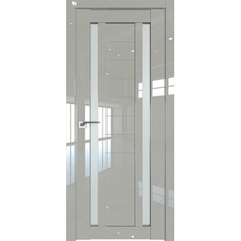 Дверь Профиль дорс 15L Галька люкс - со стеклом (Товар № ZF209270)