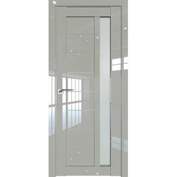 Дверь Профиль дорс 37L Галька люкс - со стеклом (Товар № ZF209298)