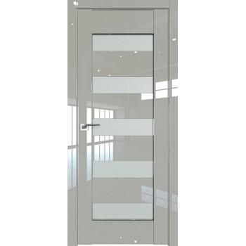 Дверь Профиль дорс 29L Галька люкс - со стеклом (Товар № ZF209302)