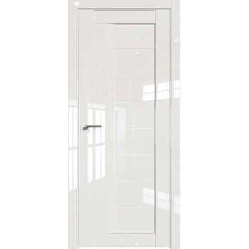 Дверь Профиль дорс 17L Магнолия люкс - со стеклом (Товар № ZF209265)