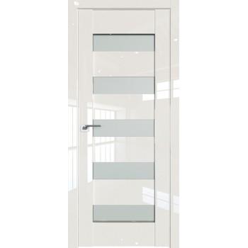 Дверь Профиль дорс 29L Магнолия люкс - со стеклом (Товар № ZF209411)