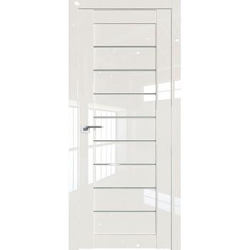 Дверь Профиль дорс 73L Магнолия люкс - со стеклом (Товар № ZF209413)