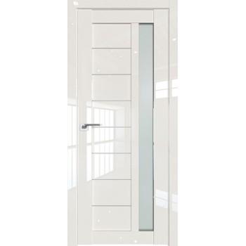 Дверь Профиль дорс 37L Магнолия люкс - со стеклом (Товар № ZF209416)