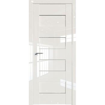 Дверь Профиль дорс 45L Магнолия люкс - со стеклом (Товар № ZF209420)