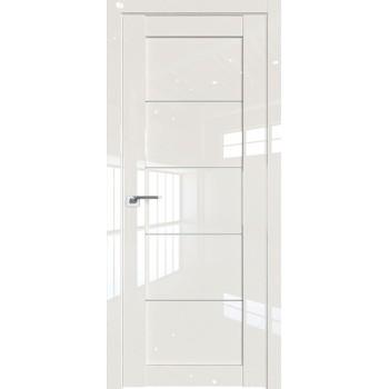 Дверь Профиль дорс 2.11L Магнолия люкс - со стеклом (Товар № ZF209431)