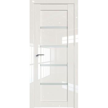Дверь Профиль дорс 2.09L Магнолия люкс - со стеклом (Товар № ZF209429)