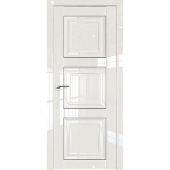 Дверь Профиль дорс 96L Магнолия люкс - глухая (Товар № ZF209419)