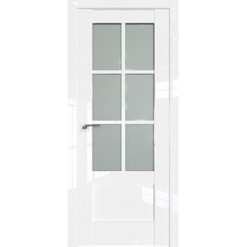 Дверь Профиль дорс 103L Белый люкс - со стеклом (Товар № ZF209335)