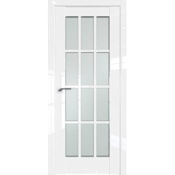 Дверь Профиль дорс 102L Белый люкс - со стеклом (Товар № ZF209340)