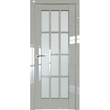 Дверь Профиль дорс 102L Галька люкс - со стеклом (Товар № ZF209309)