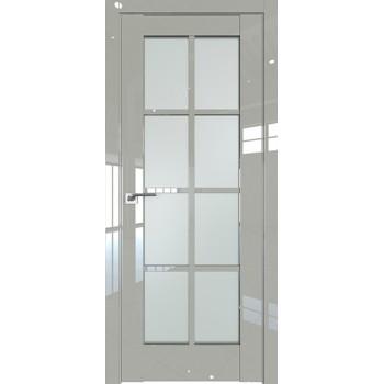 Дверь Профиль дорс 101L Галька люкс - со стеклом (Товар № ZF209311)