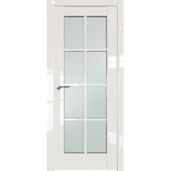 Дверь Профиль дорс 101L Магнолия люкс - со стеклом (Товар № ZF209424)