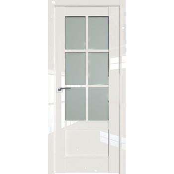 Дверь Профиль дорс 103L Магнолия люкс - со стеклом (Товар № ZF209425)