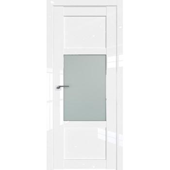 Дверь Профиль дорс 2.15L Белый люкс - со стеклом (Товар № ZF211741)