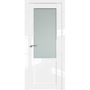 Дверь Профиль дорс 2.17L Белый люкс - со стеклом (Товар № ZF211745)