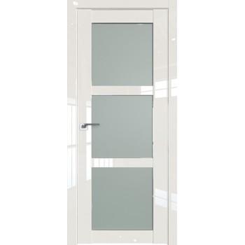 Дверь Профиль дорс 2.13L Магнолия люкс - со стеклом (Товар № ZF209432)