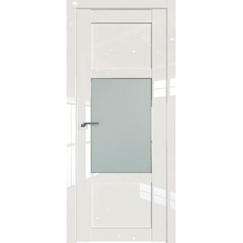 Дверь Профиль дорс 2.15L Магнолия люкс - со стеклом (Товар № ZF211740)