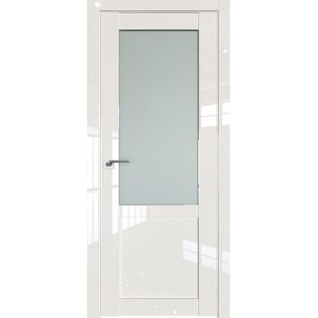 Дверь Профиль дорс 2.17L Магнолия люкс - со стеклом (Товар № ZF211747)