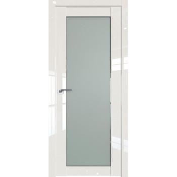 Дверь Профиль дорс 2.19L Магнолия люкс - со стеклом (Товар № ZF211758)