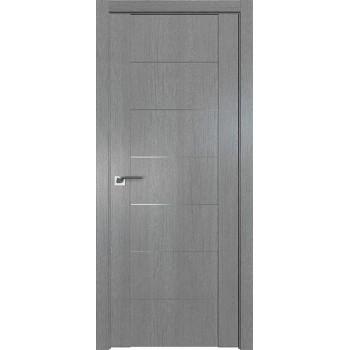 Дверь Профиль дорс 2.07XN Грувд серый - глухая (Товар № ZF209788)