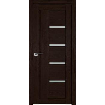 Дверь Профиль дорс 2.08XN Дарк браун - со стеклом (Товар № ZF209737)