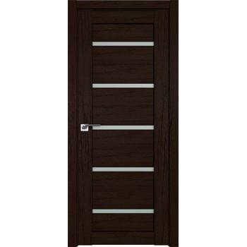 Дверь Профиль дорс 7XN Дарк браун - со стеклом (Товар № ZF211945)