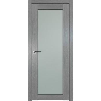 Дверь Профиль дорс 2.19XN Грувд серый - со стеклом (Товар № ZF209801)