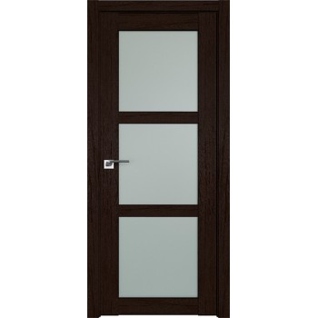 Дверь Профиль дорс 2.13XN Дарк браун - со стеклом (Товар № ZF209739)