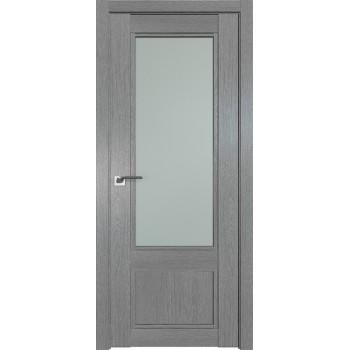 Дверь Профиль дорс 2.31XN Грувд серый - со стеклом (Товар № ZF209806)