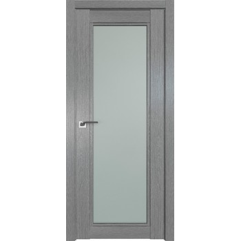 Дверь Профиль дорс 2.33XN Грувд серый - со стеклом (Товар № ZF209814)