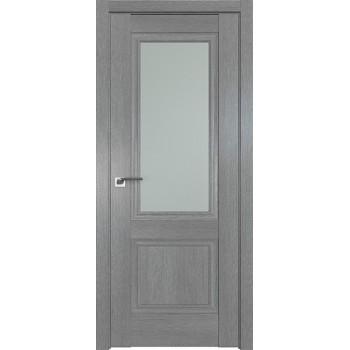 Дверь Профиль дорс 2.37XN Грувд серый - со стеклом (Товар № ZF212051)