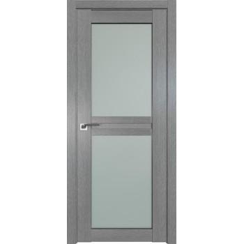 Дверь Профиль дорс 2.44XN Грувд серый - со стеклом (Товар № ZF212060)
