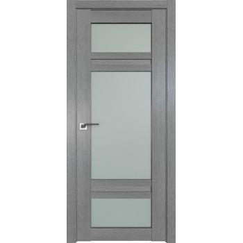 Дверь Профиль дорс 2.46XN Грувд серый - со стеклом (Товар № ZF212068)