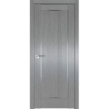 Дверь Профиль дорс 2.47XN Грувд серый - глухая (Товар № ZF212073)