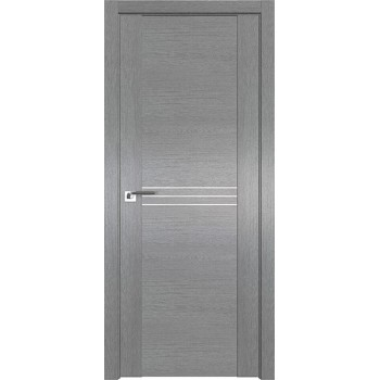 Дверь Профиль дорс 150XN Грувд серый - глухая (Товар № ZF212080)