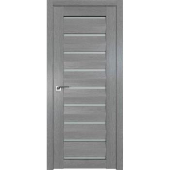 Дверь Профиль дорс 2.49XN Грувд серый - со стеклом (Товар № ZF212084)
