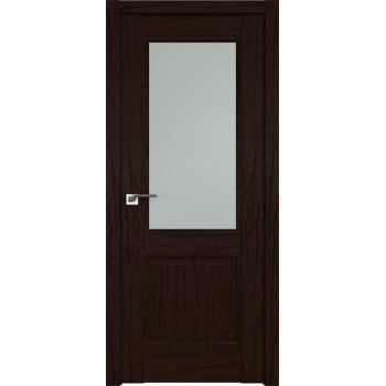 Дверь Профиль дорс 2.42XN Дарк браун - со стеклом (Товар № ZF209753)