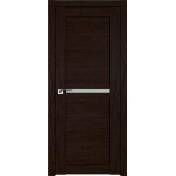 Дверь Профиль дорс 2.43XN Дарк браун - со стеклом (Товар № ZF211926)